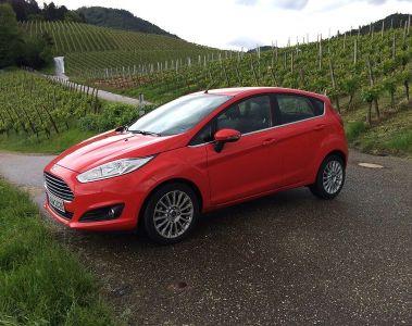 Ford Fiesta mit Doppelkupplungsgetriebe