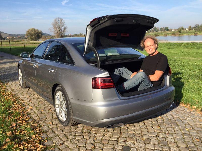 Audi A6 - Kofferraum