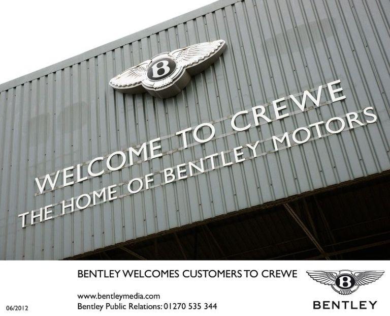 Bentley investiert 40 Millionen Pfund in Crewe