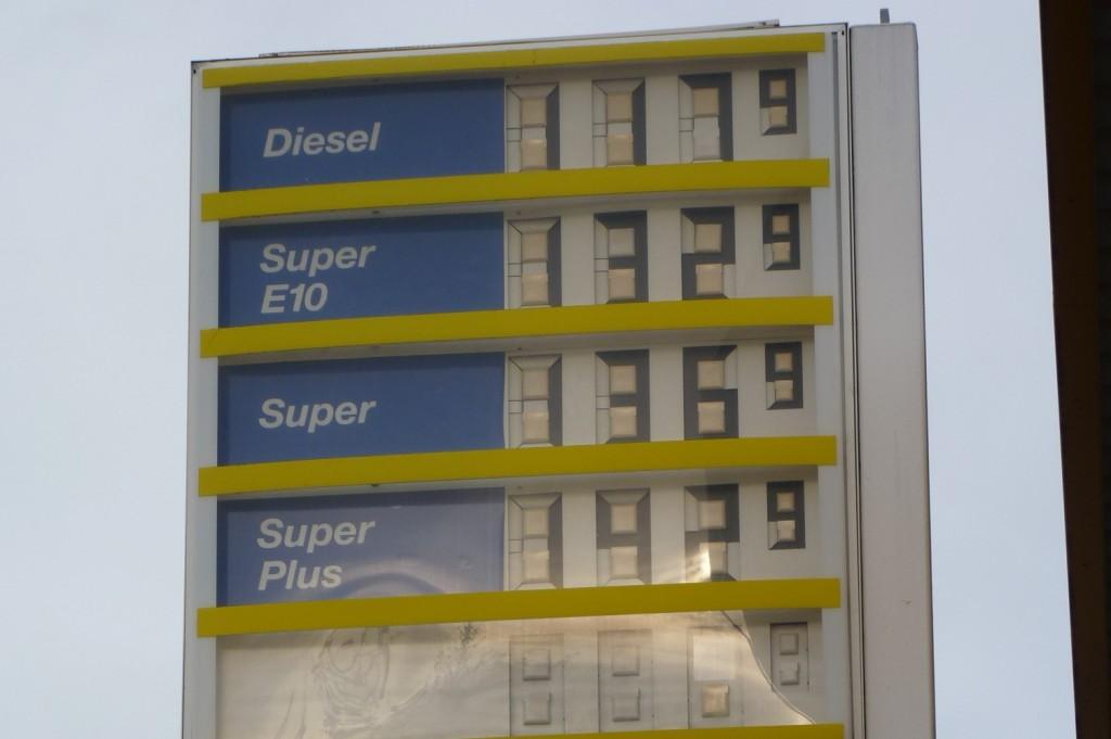 Neue Benzinsorte