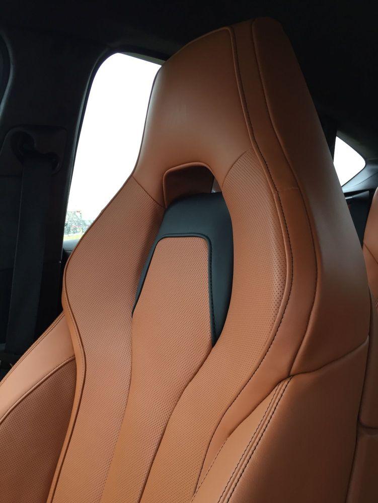 BMW X6 M 2015 Sitze