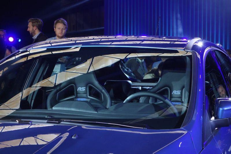 Ford Focus RS 2015 Innenraum