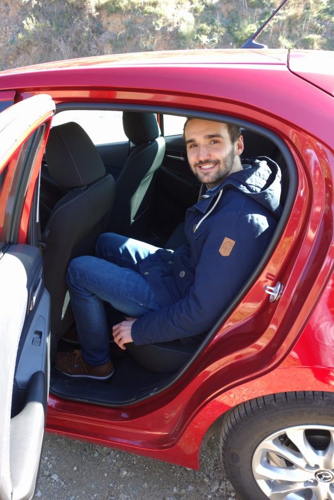 Mazda 2 2015 Fond Rubinrot