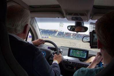 Formula E Berlin 2015 BMW i3 VIP Runde