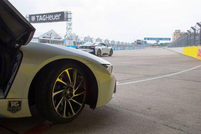 Formula E Berlin 2015 BMW i8 VIP Runde