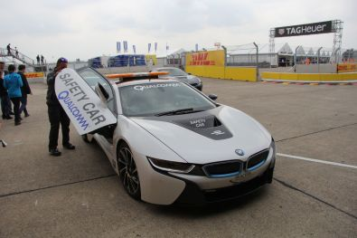 Formula E Berlin 2015 Safety Car Qualcomm Nahansicht