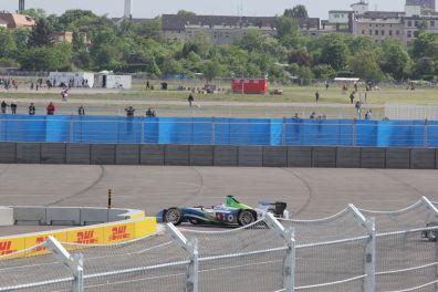 Formula E Berlin 2015 Trulli erste Runde