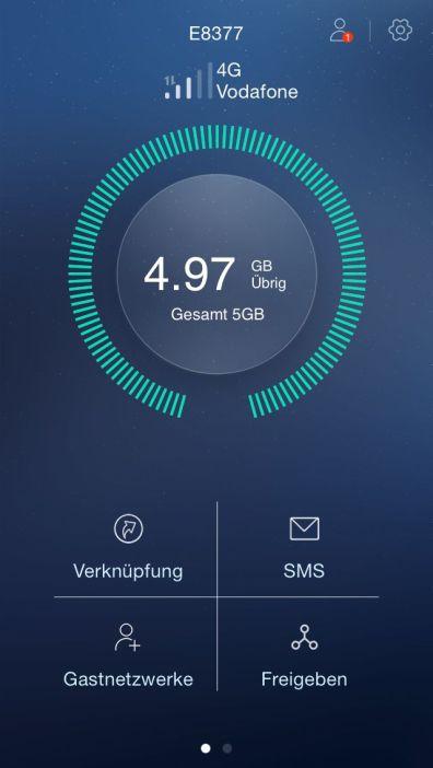 Huawei HiLink CarFi App