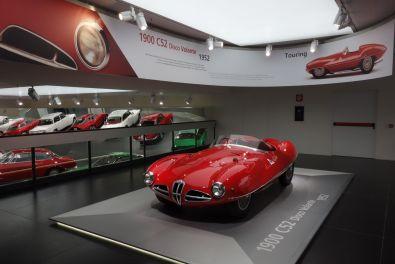 Alfa Romeo Museum 2015 Disco Volante