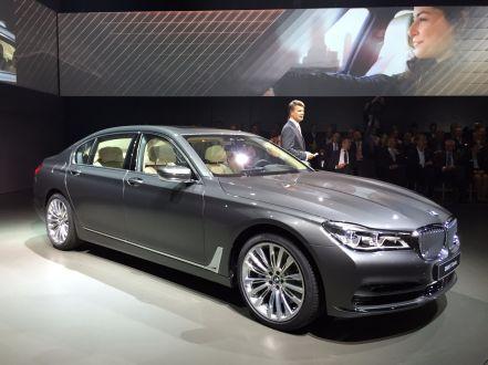 BMW 7er 2015 Präsentation