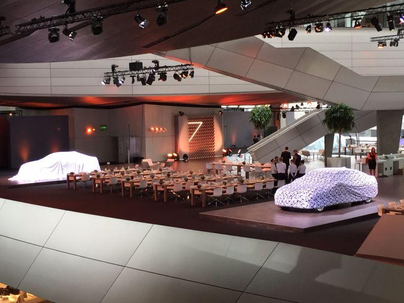 BMW 7er 2015 Weltpremiere BMW Welt