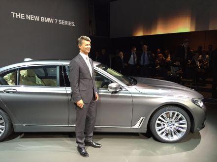 BMW 7er 2015 Weltpremiere Vorstandsvorsitzender Harald Krüger