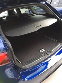 Toyota Avensis Kofferraum - 2015
