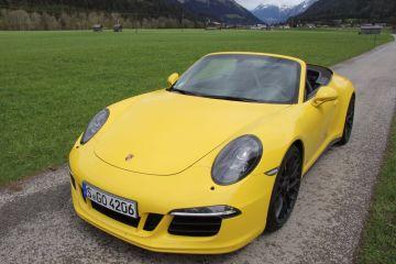 Männertraum - Porsche 911 Carrera GTS Cabrio