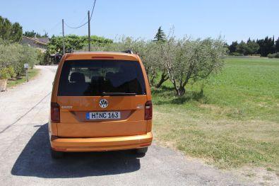 VW Caddy 2015 Beach Maxi Heck