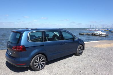 VW Sharan 2015 Seitlich