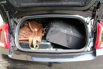 Fiat 500 2015 Kofferraum befüllt