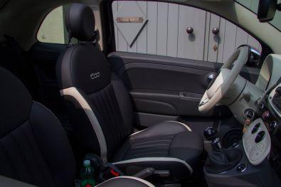 Fiat 500 2015 Ledersitze