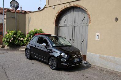 Fiat 500 2015 Seitenansicht Typisch Italien