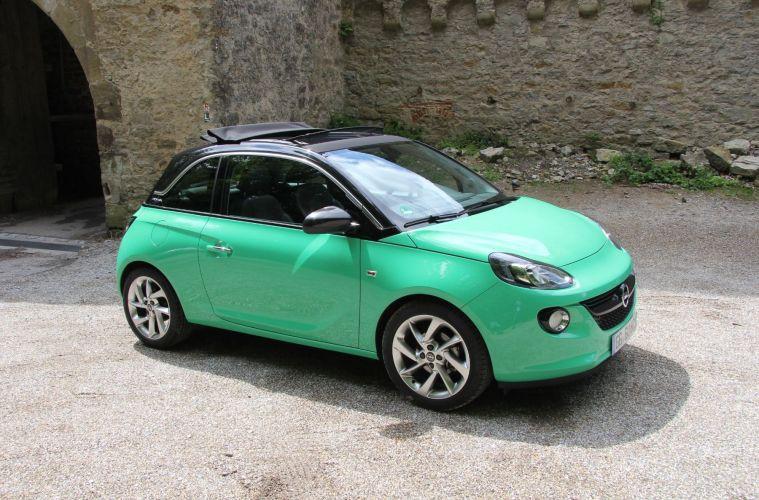 Nun Mit Faltdach Und Automatik Opel Adam Open Air Der