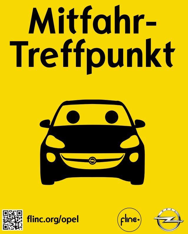 Opel beteiligt sich an Mitfahrzentrale flinc