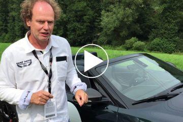 Sightseeing Tour um den Jaguar F-Type Project 7