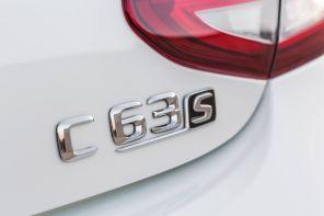 Mercedes C 63 Coupe 2015 C 63 S Schriftzug