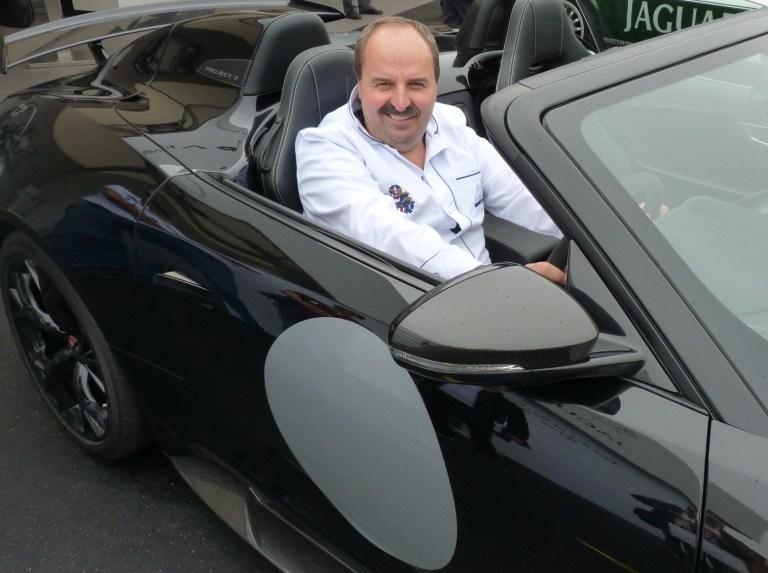 Johann Lafer und seine Autos
