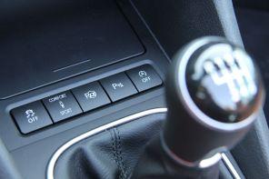 VW Golf Cabrio 2015 Bedienelemente Mittelkonsole