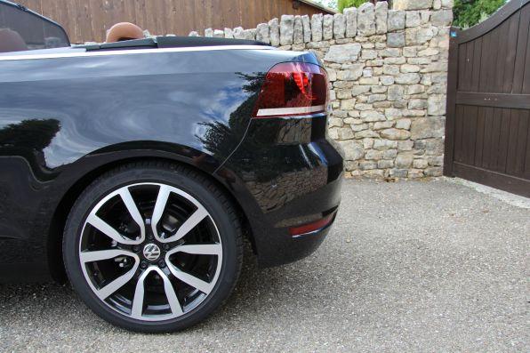VW Golf Cabrio 2015 Heck 18 Zoll Felgen