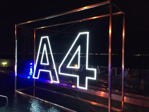 Audi A4 2015 Logo