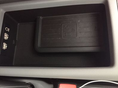 Audi A4 2015 drahtloses Laden
