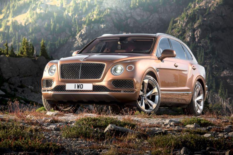 Bentley Bentayga 2015 Frontansicht
