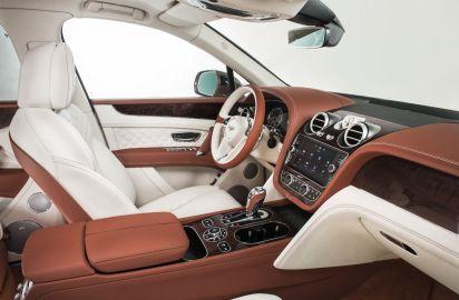 Bentley Bentayga 2015 Innenraum