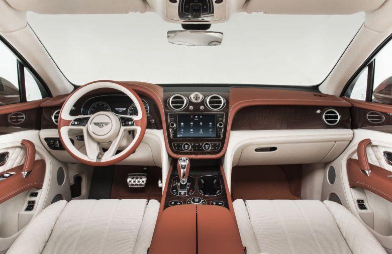 Bentley Bentayga 2015 Interior