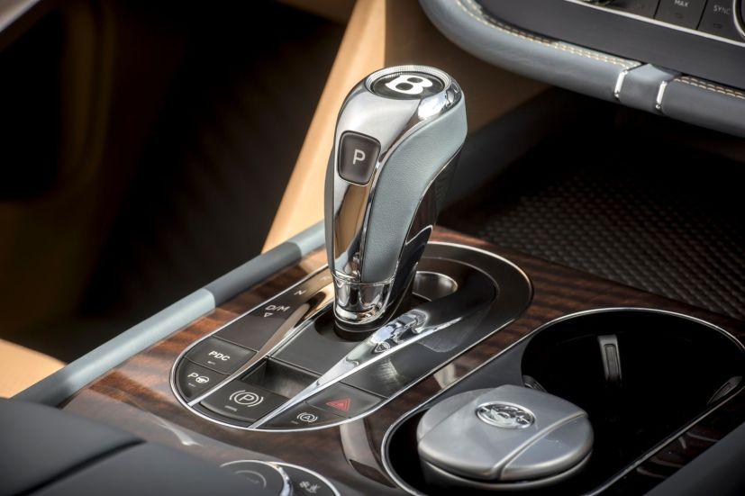 Bentley Bentayga 2015 Schaltknauf