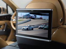 Bentley Bentayga 2015 TV Rückbank