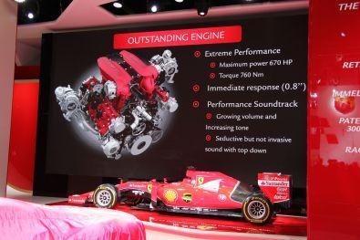 Ferrari 488 Spider IAA 2015 Motor