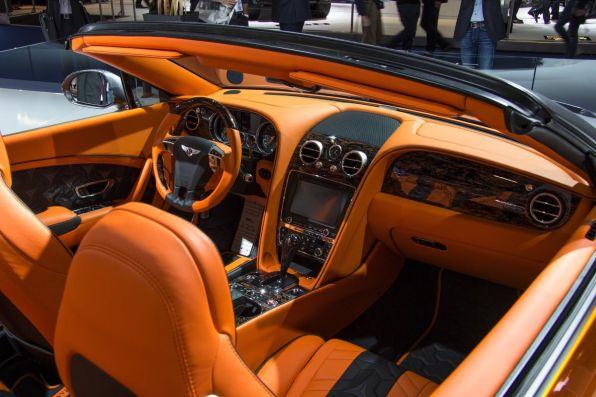 Mansory Bentley GTC IAA 2015 Interieur Innenraum
