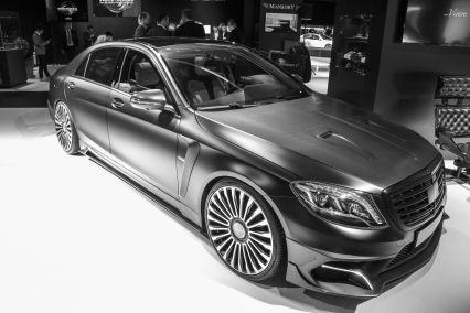 Mansory Mercedes Black Edition S Limousine Front