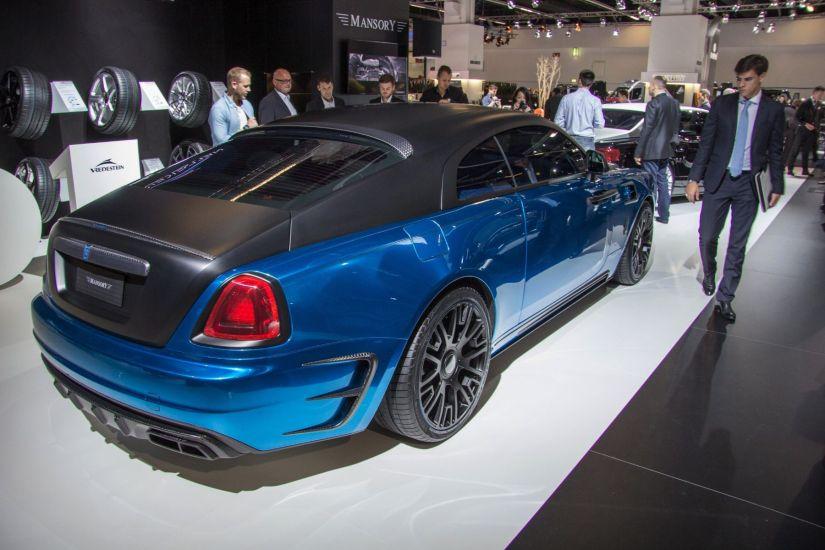 Mansory Rolls-Royce Wraith Heck