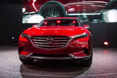 Mazda Koeru Studie 2015 Von Vorne