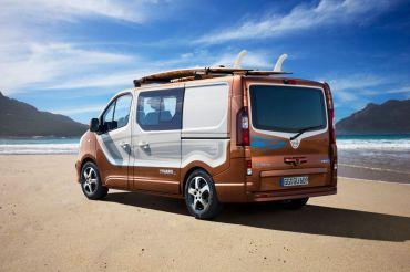 Opel Vivaro Surf Concept 2015 Heck