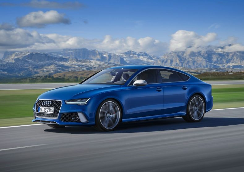 Audi RS7 Sportback Performance 2015 Seitlich