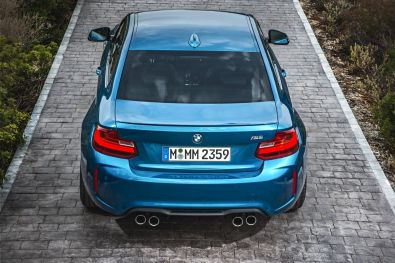 BMW M2 Coupe 2015 Heck