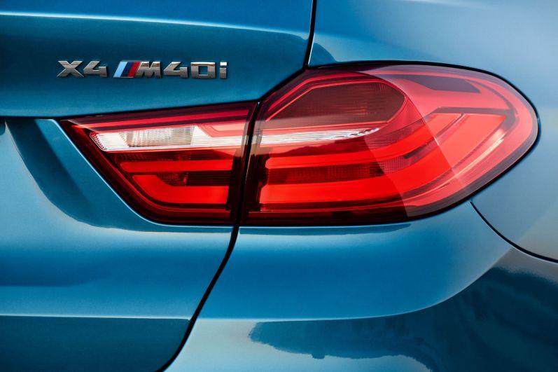 BMW X4 M40i 2015 Rückleuchte