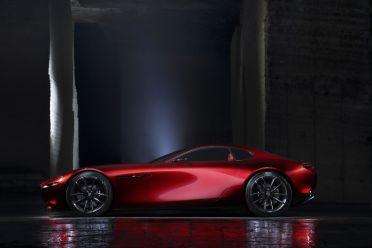 Mazda RX-Vision Tokyo 2015 Seitenansicht