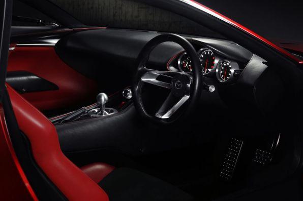 Mazda RX-Vision Tokyo 2015 Studie Interieur