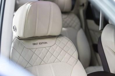 Bentley debuts Bentayga First Edition (2)