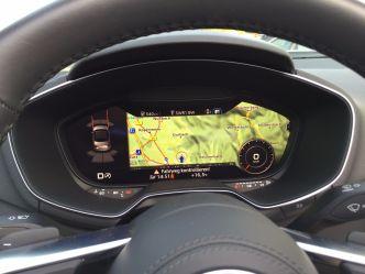 Audi TT Roadster Display